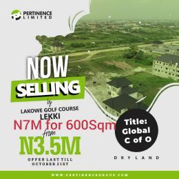 Residential Land Land for sale Lakowe Golf course  Lekki Lagos