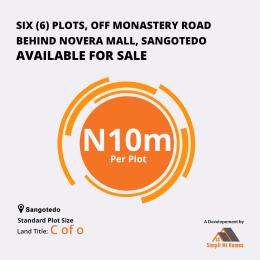 Mixed   Use Land Land for sale Monastery road Sangotedo Lagos