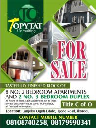 4 bedroom Shared Apartment Flat / Apartment for sale MORUFU SANUSI STREET  Ijede Ikorodu Lagos