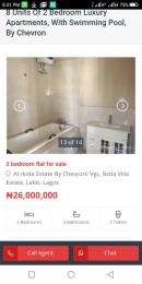 3 bedroom Boys Quarters Flat / Apartment for sale Chevron drive Lagos Island Lagos Island Lagos