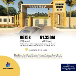 Mixed   Use Land Land for sale Mayinre Road, Onikonkon Town Eleranigbe Ibeju-Lekki Lagos