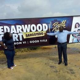 Residential Land Land for sale No1 Sangotedo Ajah Lagos