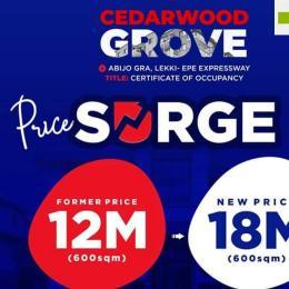 Residential Land Land for sale GRA Abijo Ajah Lagos