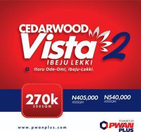 Serviced Residential Land Land for sale OKLNG Road,, Oke-Omi, Ibeju-Lekki, Lagos LaCampaigne Tropicana Ibeju-Lekki Lagos
