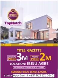 Mixed   Use Land Land for sale Ibeju Agbe Ibeju-Lekki Lagos