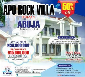 Mixed   Use Land Land for sale By Apo Nepa Junction before Apo Shoprite and Apo Resettlement overlooking Apo Legislative quarters.  Apo Abuja
