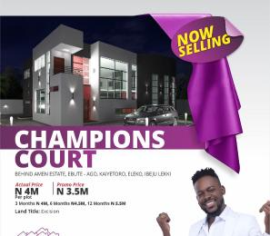 Land for sale kaiyetoro Eleko Ibeju-Lekki Lagos