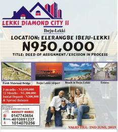Residential Land Land for sale Ibeju Lekki  Eleranigbe Ibeju-Lekki Lagos