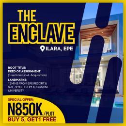 Residential Land Land for sale Ilara, Epe Epe Road Epe Lagos