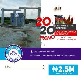 Residential Land Land for sale Ibeju Agbe Orimedu Ibeju-Lekki Lagos