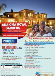 Serviced Residential Land Land for sale AKANABU VILLAGE UMUOJI IDEMMILI LOCAL GOVERNMENT AREA OF ANAMBRA STATE Idemili North Anambra