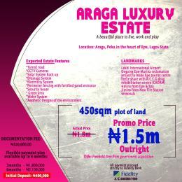 Residential Land Land for sale Araga Poke Epe  Epe Road Epe Lagos