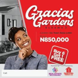 Residential Land Land for sale Ise Town Ibeju Lekki  Ise town Ibeju-Lekki Lagos