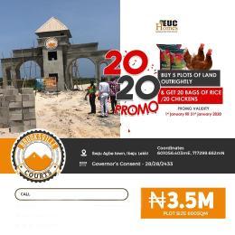 Residential Land Land for sale Lekki-Epe expressway Orimedu Ibeju-Lekki Lagos
