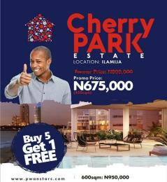 Residential Land Land for sale Cherry Park Estate Epe Road Epe Lagos