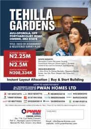 Mixed   Use Land Land for sale Off Portharcourt Road Owerri Imo