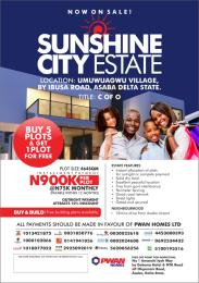 Residential Land Land for sale Free Trade Zone Asaba Delta
