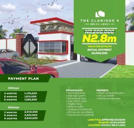 Residential Land Land for sale CLARIDGE Ise town Ibeju-Lekki Lagos