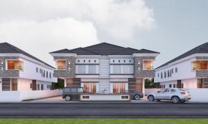 4 bedroom Semi Detached Duplex House for sale In a modern Estate chevron Lekki Lagos