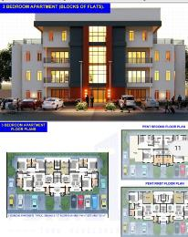 3 bedroom Shared Apartment Flat / Apartment for sale just after former works and housing estate, off 3rd avenue Gwarimpa Gwarinpa Abuja