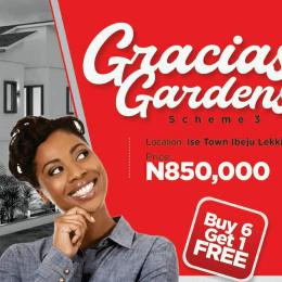 Land for sale Ise town Ibeju-Lekki Lagos