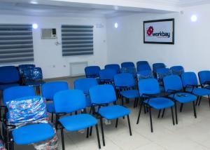 Conference Room Co working space for rent 3/9, Olu koleosho street off Simbiat abiola way Obafemi Awolowo Way Ikeja Lagos