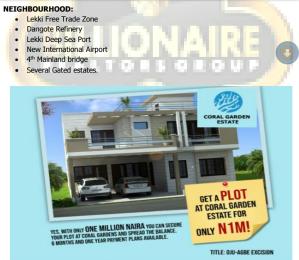 Serviced Residential Land Land for sale close to lekki free trade zone Free Trade Zone Ibeju-Lekki Lagos