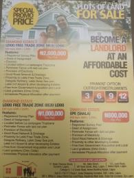 Residential Land Land for sale Ibeju lekki free trade zone, Sirinwo. Free Trade Zone Ibeju-Lekki Lagos