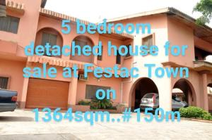 5 bedroom Detached Duplex House for sale 4th Avenue Festac Amuwo Odofin Lagos