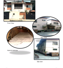 5 bedroom Detached Duplex House for sale Adekunle Yaba Lagos