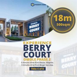 Land for sale Omole Phase II Extension Sharing Boundary with Magodo Phase II Omole phase 2 Ojodu Lagos