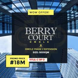 Land for sale Omole Phase II Extension Sharing Boundary with Magodo Phase II Lekki Lagos