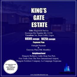 Mixed   Use Land Land for sale Ise Town LaCampaigne Tropicana Ibeju-Lekki Lagos