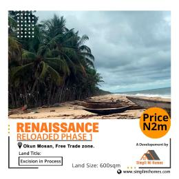 Mixed   Use Land Land for sale Free Trade Zone Ibeju-Lekki Lagos