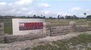 Land for sale Hopewell Park Estate Eleko Ibeju-Lekki Lagos - 2