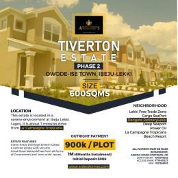 Mixed   Use Land Land for sale Opposite lacampaigne  LaCampaigne Tropicana Ibeju-Lekki Lagos