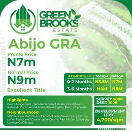 Serviced Residential Land Land for sale abijo gra Abijo Ajah Lagos
