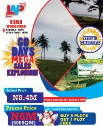 Residential Land Land for sale 15 minutes from Ajah and 7 minutes from Shoprite  Sangotedo Ajah Lagos