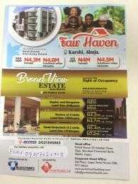 Land for sale Gosa District Idu Station Abuja/ NeighborHood federal housing Air Force base  Idu Abuja