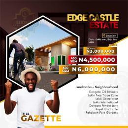 Mixed   Use Land Land for sale Lekki Town Ibeju lekki.  Eputu Ibeju-Lekki Lagos