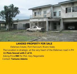 Residential Land Land for sale 3 Circular Road, Presidential Estate, Branch Success Center, Mile 1, Police Barracks; Trans Amadi Port Harcourt Rivers