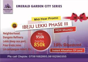 Mixed   Use Land Land for sale Imedu Orimedu Ibeju-Lekki Lagos