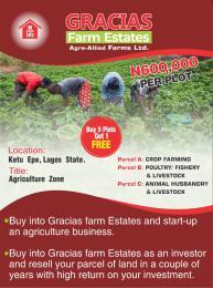 Land for sale Ketu-Epe Epe Road Epe Lagos
