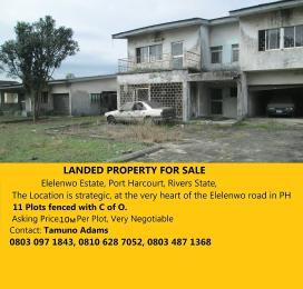 Residential Land Land for sale Elelenwo PortHarcourt Port Harcourt Rivers