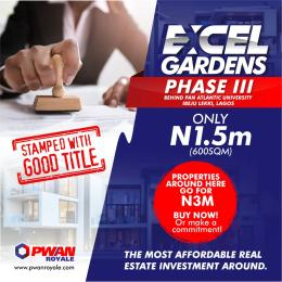 Mixed   Use Land Land for sale Located in the neighbourhood of Pan Atlantic University and Free Trade Zone  Ibeju-Lekki Lagos