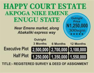 Mixed   Use Land Land for sale Akpoga Nike Emene near Emene Market  Enugu Enugu