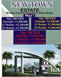 Residential Land Land for sale Beside custom quarter, kuja Kuje Abuja