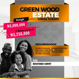 Residential Land Land for sale Greenwood Estate Agbara Agbara-Igbesa Ogun