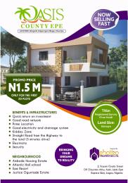 Residential Land Land for sale Oasis County Epe Lagos