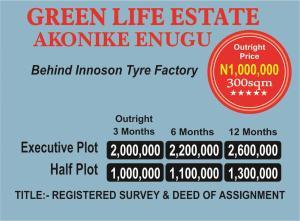 Mixed   Use Land Land for sale Akonike behind Innoson Tyre Factory  Enugu Enugu